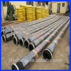 Dock / Cargo Hydraulic Marine Oil Hose With Steel Flange Weather Resistant