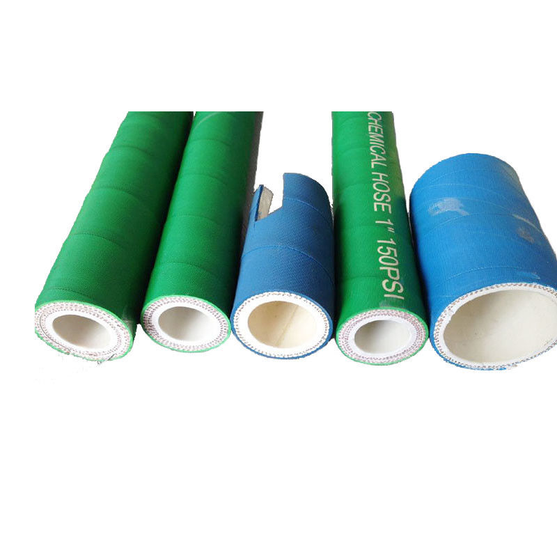 Flexible XLPE UHMWPE Chemical Suction Hose Color Solvent Resistant