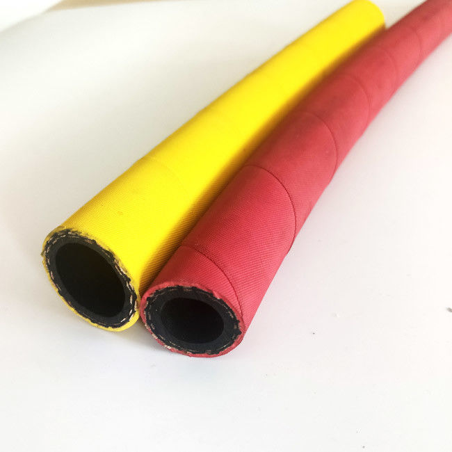 EPDM Rubber Hot Water Flexible Hose 19mm 18bar Steam Resistant